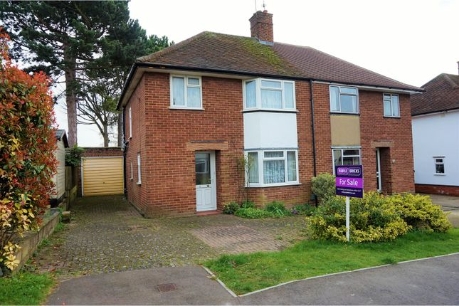 Thumbnail Semi-detached house for sale in Grosvenor Road West, Baldock