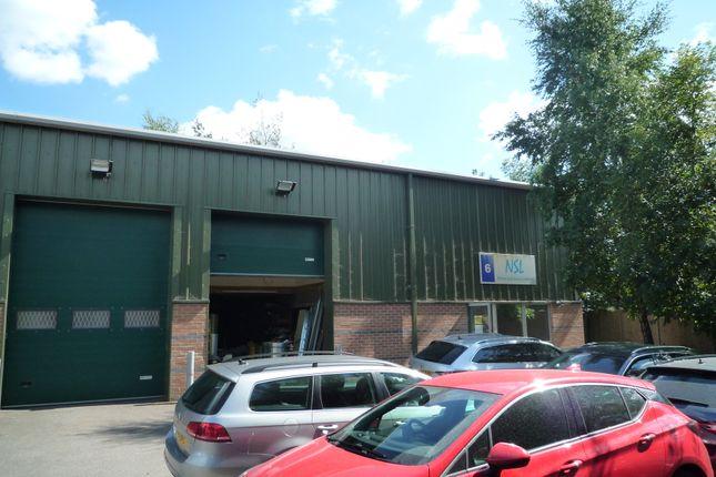 Thumbnail Warehouse to let in Unit 6 Ldl Business Centre, Station Road West Ash Vale, Surrey
