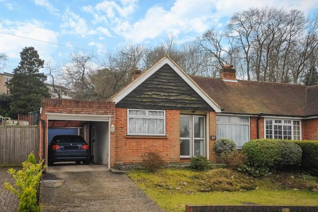 Thumbnail Bungalow for sale in Longmeadow, Frimley, Camberley, Surrey