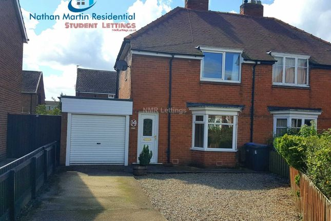 Thumbnail Semi-detached house to rent in Rokeby Square, Durham