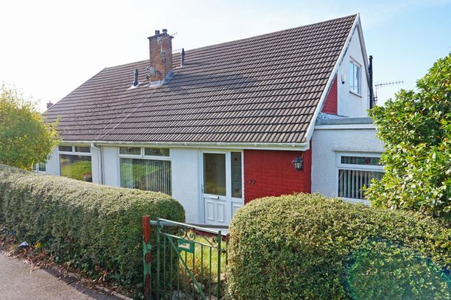 Thumbnail Semi-detached bungalow for sale in Shirldale Close, Maesycwmmer