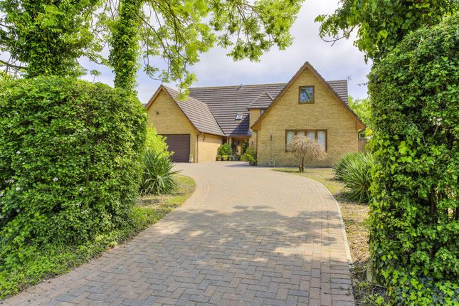 Thumbnail Detached house for sale in Spaldwick Road, Stow Longa, Huntingdon