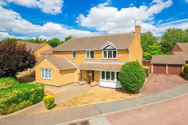 Thumbnail Detached house for sale in Regal Drive, Kettering