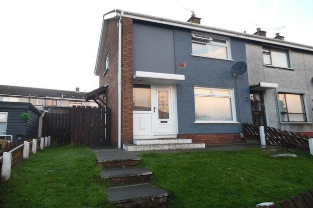 Thumbnail Terraced house to rent in The Glade, Newtownabbey