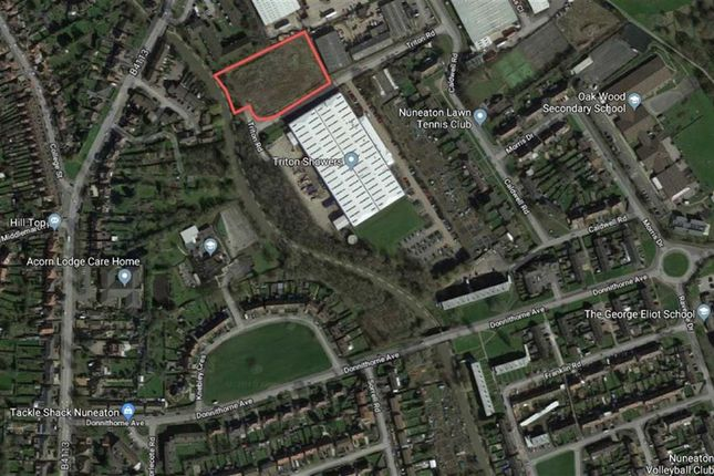 Thumbnail Land for sale in For 29 Affordable Dwellings, Triton Road, Nuneaton, Warwickshire