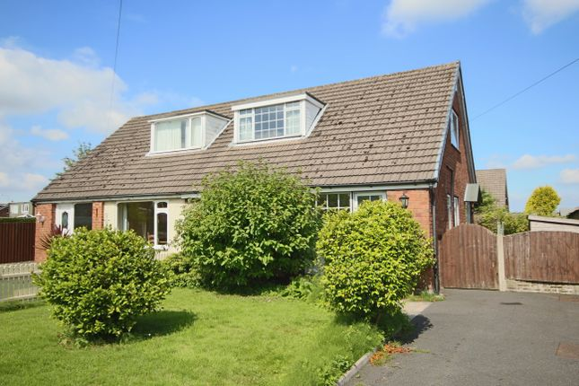 Thumbnail Semi-detached bungalow to rent in Middle Hey, Much Hoole, Preston