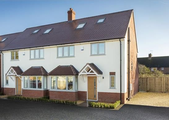Thumbnail Semi-detached house for sale in Dukes Close, Stratford-Upon-Avon, Warwickshire