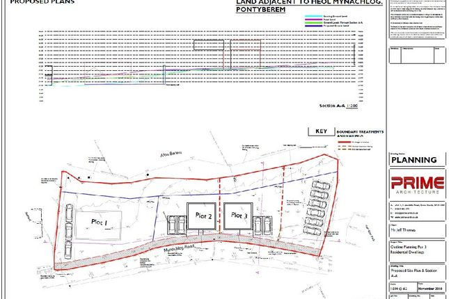 Thumbnail Land for sale in Mynachlog Road, Pontyberem, Llanelli