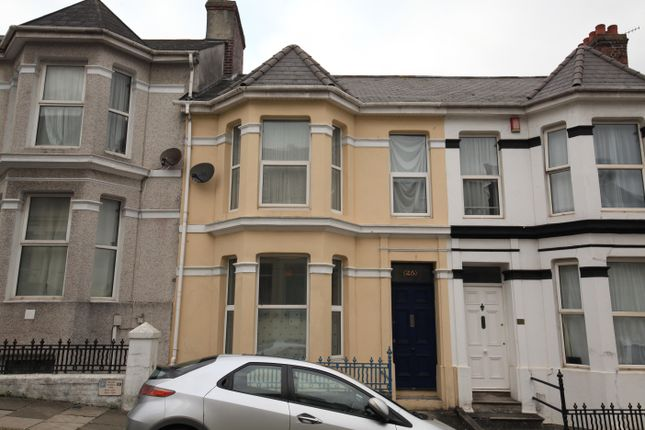 Thumbnail Flat to rent in Prince Maurice Road, Lipson, Plymouth