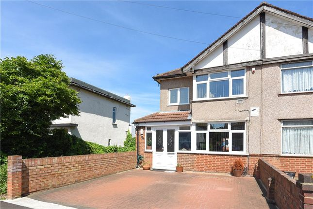 Thumbnail Semi-detached house for sale in The Drive, Feltham