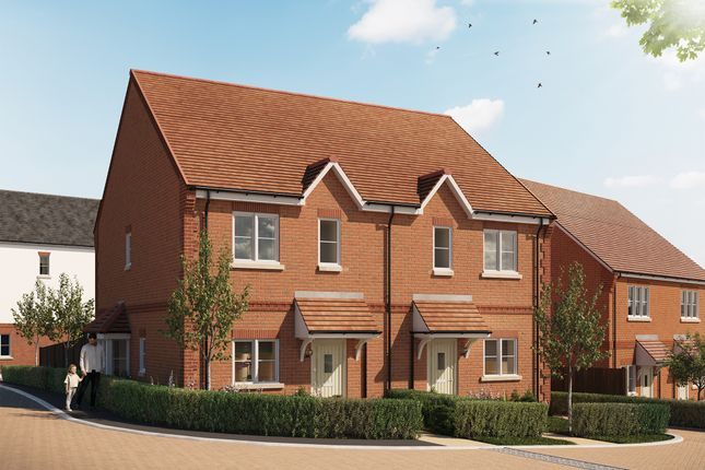 Thumbnail Semi-detached house for sale in Abbey Barn Lane, High Wycombe