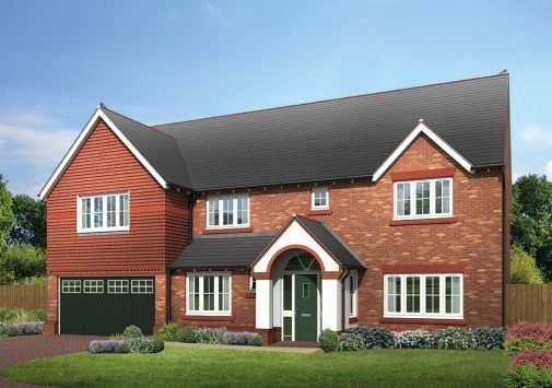Thumbnail Detached house for sale in The Farnham, The Hawthorns, Common Lane, Lach Dennis, Northwich, Cheshire
