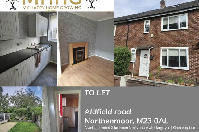 Thumbnail Semi-detached house to rent in Aldfield Road, Northernmoor, Manchester