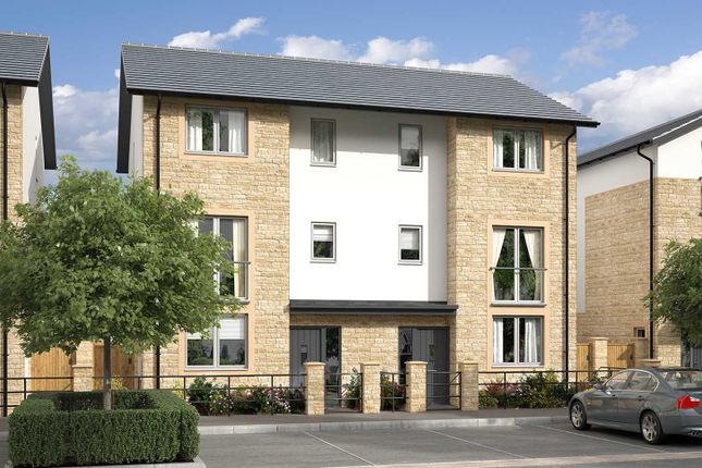 "Thumbnail Semi-detached house for sale in ""The Barovier"" at Beckford Drive, Lansdown, Bath"