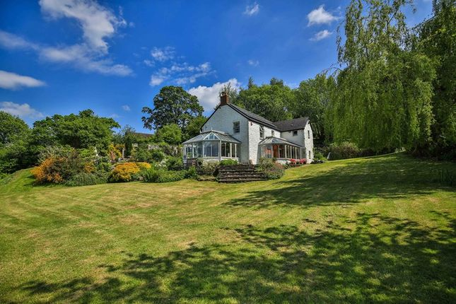 Thumbnail Farmhouse for sale in Llangattock, Crickhowell