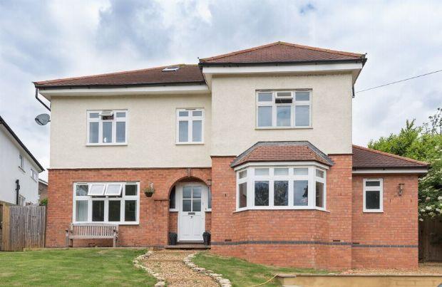 Thumbnail Detached house for sale in Northampton Road, Denton, Northampton