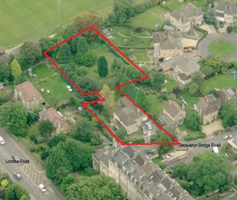 Land for sale in Grosvenor Bridge Road, Bath