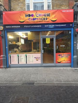 Restaurant/cafe for sale in High Street, Walthamstow, London