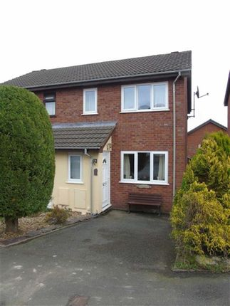 Thumbnail Semi-detached house for sale in 3, Bluebell Close, Welshpool