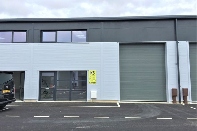 Thumbnail Industrial to let in Unit K5, Keppel, Daedalus Park, Solent Enterprise Zone, Lee-On-The-Solent