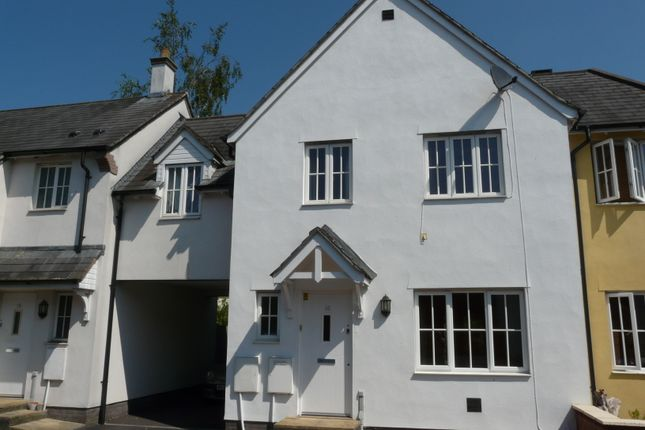 Thumbnail Semi-detached house to rent in Lupin Way, Willand