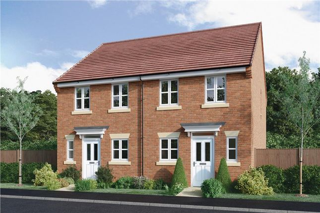 "Thumbnail Semi-detached house for sale in ""Beckford"" at Halam Road, Southwell"