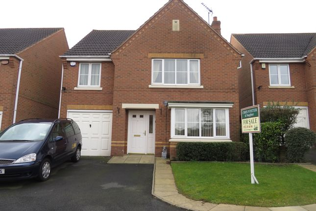 Thumbnail Detached house for sale in Crabtree Road, Walsall