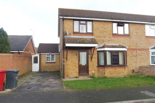Thumbnail Semi-detached house for sale in Kirkwall Spur, Stoke Poges, Slough
