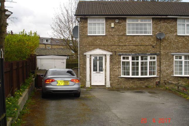 Thumbnail Semi-detached house to rent in Beldon Park Avenue, Bradford