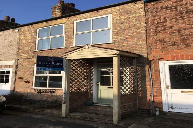 Thumbnail Terraced house for sale in Stockwell Lane, Brandesburton, Driffield
