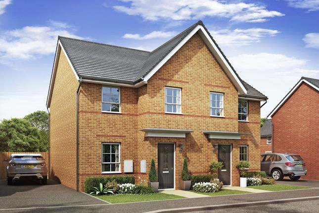 "Thumbnail Semi-detached house for sale in ""Palmerston"" at Lancaster Avenue, Watton, Thetford"