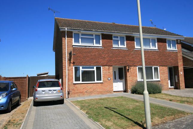 Thumbnail Semi-detached house to rent in Bensted, Ashford, Kent