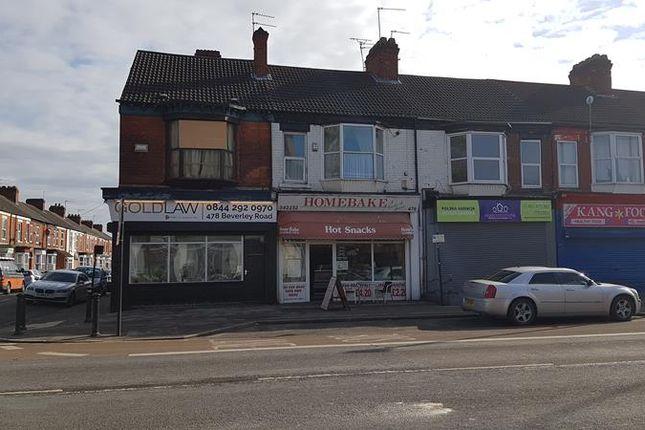 Thumbnail Retail premises for sale in 476 Beverley Road, Hull