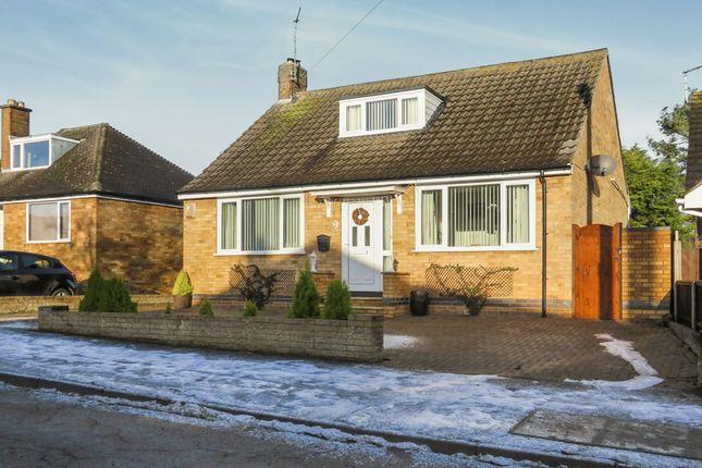 Thumbnail Detached bungalow for sale in Dunkirk Avenue, Desborough, Kettering