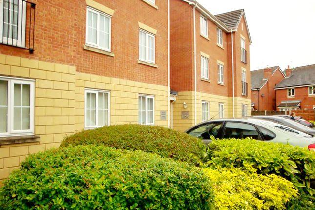 Thumbnail Flat to rent in Godolphin Close, Ellesmere Park, Eccles