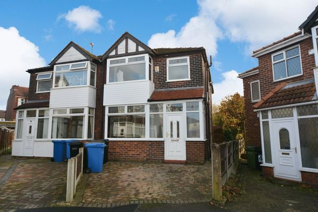 Thumbnail Semi-detached house to rent in Brendon Avenue, Stockport