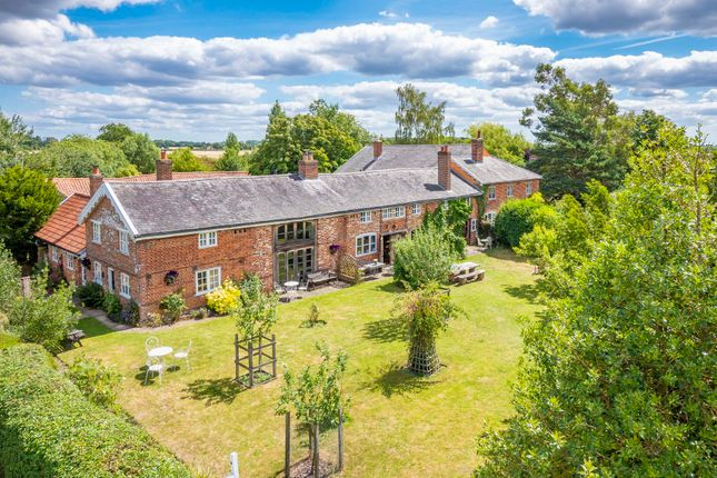 Thumbnail Farmhouse for sale in Edwardstone, Sudbury, Suffolk