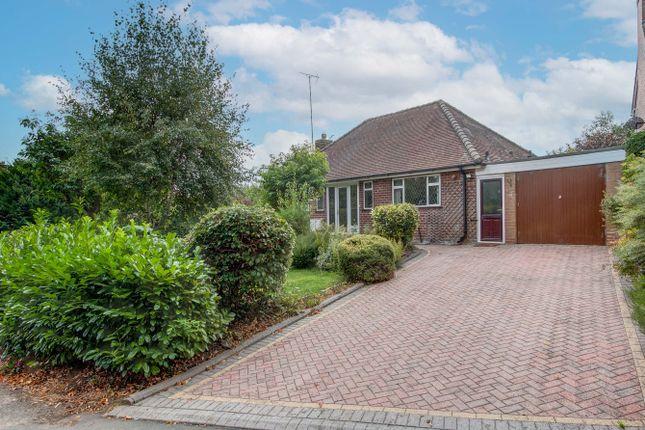 Thumbnail Detached bungalow for sale in Groveley Lane, Cofton Hackett, Birmingham