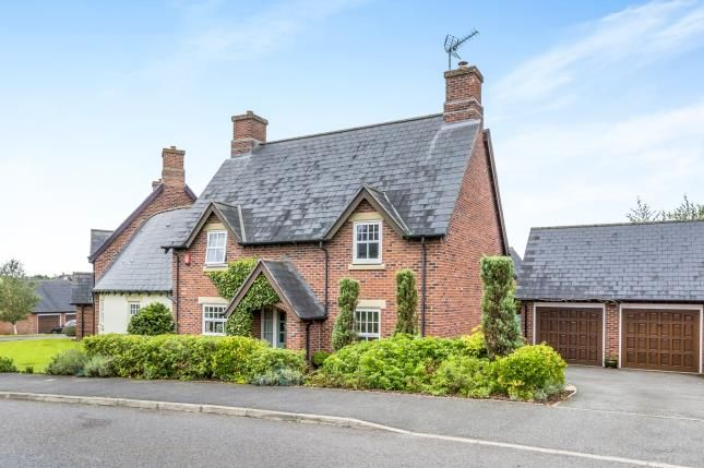 Thumbnail Detached house for sale in Ashbourne Drive, Crewe, Nantwich, Cheshire