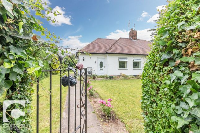 Thumbnail Semi-detached bungalow for sale in Rocklee Gardens, Little Neston, Neston, Cheshire