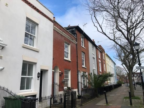 Thumbnail End terrace house to rent in King Street, Portsmouth