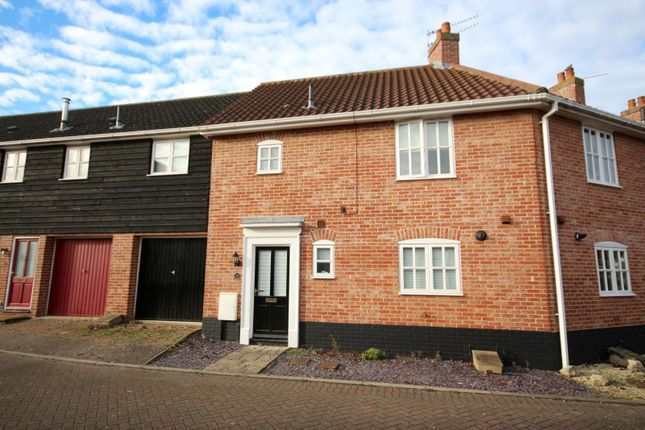 Thumbnail Terraced house to rent in Coltsfoot Crescent, Bury St. Edmunds