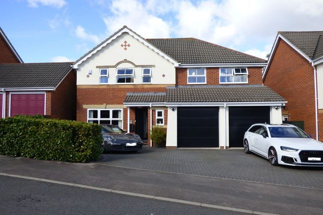 Thumbnail Detached house for sale in Hither Mead, Frampton Cotterell, Bristol