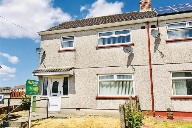 Thumbnail Semi-detached house to rent in Ty Coch, Rhymney, Tredegar