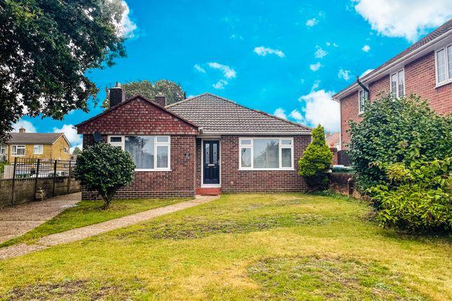 Thumbnail Detached bungalow for sale in Drove Road, Southampton