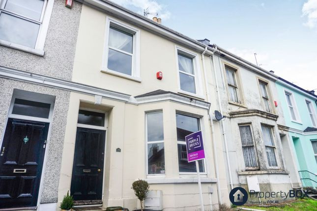 Thumbnail Terraced house for sale in Palmerston Street, Plymouth