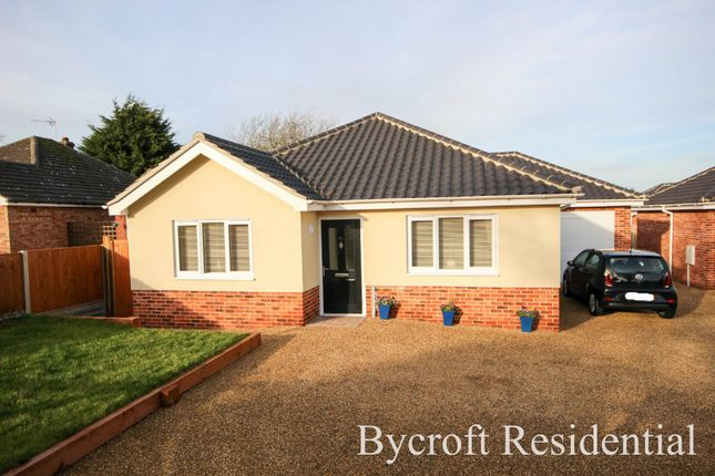 Thumbnail Detached bungalow for sale in Cromer Road, Ormesby, Great Yarmouth
