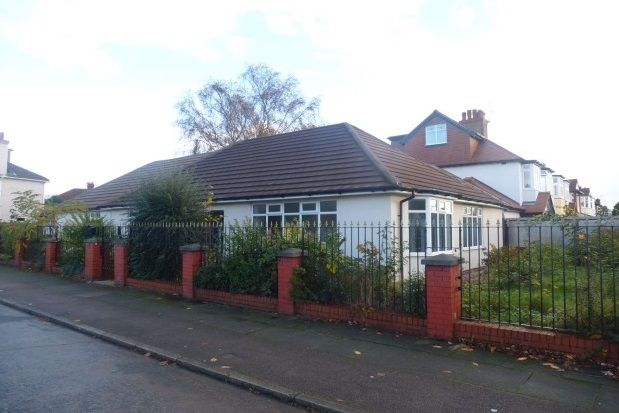 Thumbnail Bungalow to rent in Gressingham Road, Allerton, Liverpool