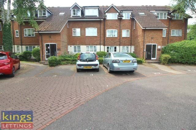 Thumbnail Flat to rent in Napier Court, Cheshunt