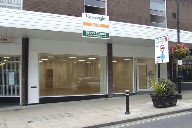 Thumbnail Retail premises to let in Bank Street, Melksham